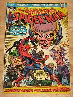 Amazing Spider-Man 138 High Grade Bronze Age Marvel Comics