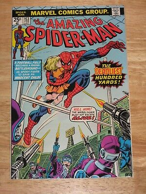 Amazing Spider-Man 153  High Grade Bronze Age Marvel Comics