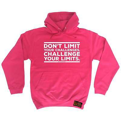 Cycling Hoodie Challenge Your Limits hoody cycle funny Birthday sports HOODY