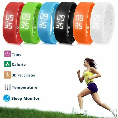 Bluetooth Smart Band Watch Health Fitness Tracker Sports Bracelet Wristband