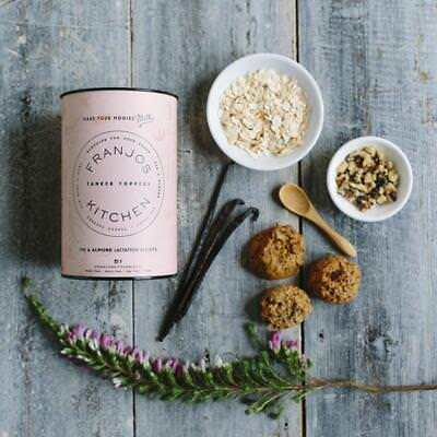 Franjos Kitchen Tanker Topper Lactation Cookies Fig & Almond Biscuits