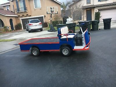 Taylor Dunnl Flatbed Electric Utility Cart