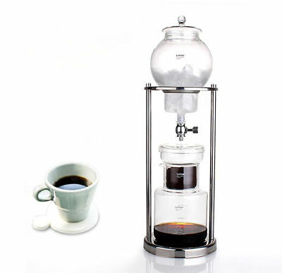 Ice Cold Water Dutch Brew Coffee Drip Tea Coffee Maker 1000ML Home Office AU