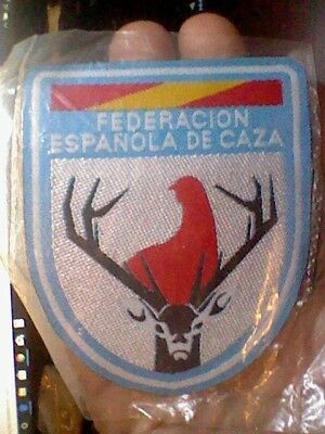 parche patch FEDERACION SPAIN HUNTING CAZA  TEXTILE