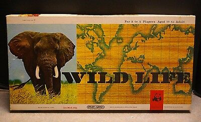 WILD LIFE BY SPEAR/'S GAMES 1965 GAME PARTS .