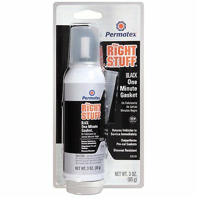 Permatex The Right Stuff One Minute Gasket Maker Black 3 OZ 25229