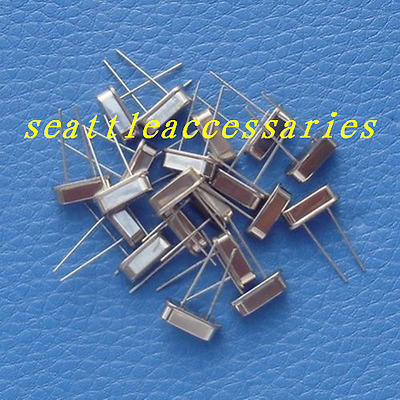 10pcs 12.8MHZ/12.800 MHz Quartz Crystal Oscillator HC49/S HC-49S Low Profile
