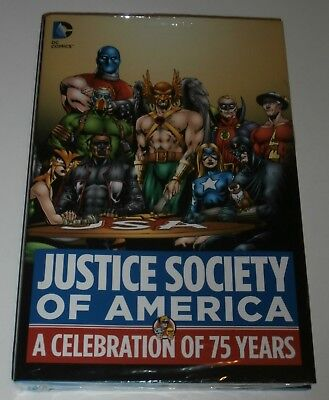 Justice Society of America A Celebration of 75 Years...TPB..Factory Sealed..