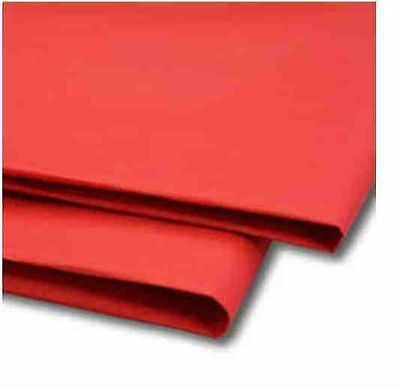 TISSUE PAPER ACID FREE SCARLET RED WRAPPING 35CM X 50CM, Choose No Of Sheets