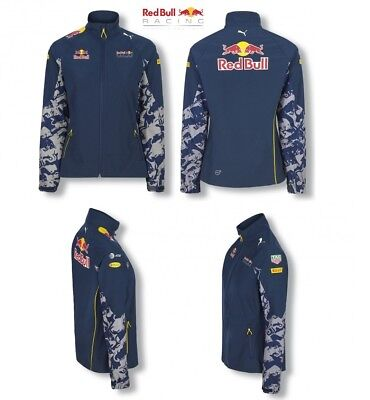 b5e08d7a7b3d Jacket Soft Shell Red Bull Racing Formula One Team womens Ladies PUMA F1 CA