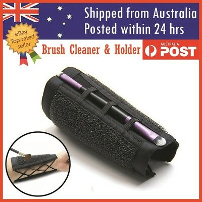 Makeup Brush Cleaner Armband Color Changeover Removal Eye Shadow Sponge Cleaner