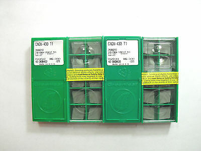 CNGN 433 T1 WG-300 Greenleaf Ceramic Insert **10PCS**
