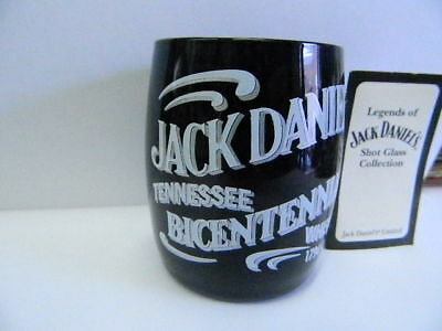 Legends of Jack Daniels Collection TENNESSEE BICENTENNIAL Shot Glass w/COA