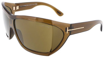 a4eb95d6a6c TOM FORD BROWN Rectangular Sunglasses FT 0559 53E FT 0559 53E ...