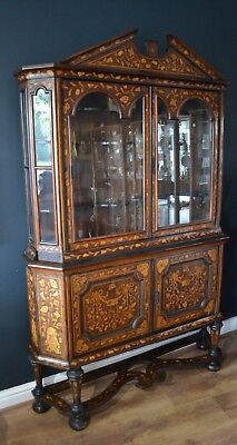 Late 18th/Early 19th Century Dutch Marquetry Cabinet