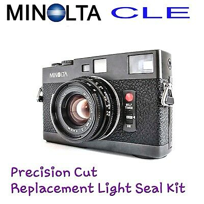 Minolta CLE  ~ Lazer Cut Replacement Light Seal Kit ~ Enough for 3x Cameras!