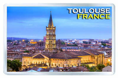 Toulouse France Mod2 Fridge Magnet Iman Nevera