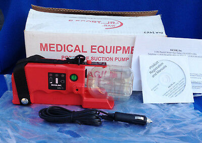SSCOR Quickdraw Suction Pump - Tabletop Unit - Model 2M083A - Refurbished