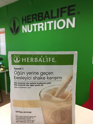 Herbalife Vanilla Shake Delicious Healthy Life Meal Replacement 26 g