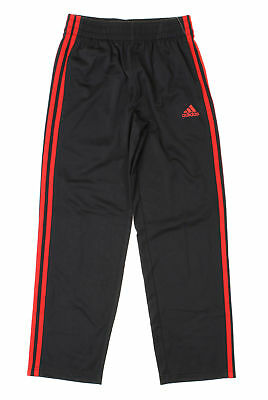 Adidas Boys Youth Tech Fleece Pant Small 8 black and red