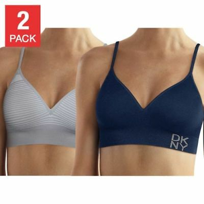 DKNY Seamless Bralette, 2-pack, Variaty Colors and Sizes