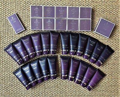 Lot 34 ASPREY PURPLE WATER Ritz Carlton Hotel Shower Gel Shampoo Body Lotion ++