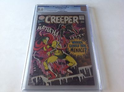 Beware The Creeper 1 Cgc 8.0 Cool Steve Ditko 1960S Art Denny Oneill Dc Comics