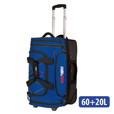 BlackWolf - Bladerunner 60+20 Drop Bottom Duffle - Blue