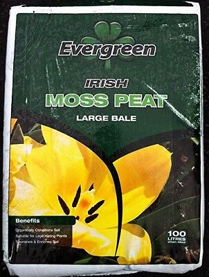 2 litre Quality Irish Peat Moss - Carnivorous Plant Compost or Soil Amendment
