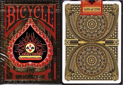 CPC 100th Deck Design Bicycle Playing Cards Poker Size Deck USPCC Custom Limited