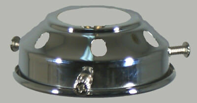 """New Art Deco Shade Lamp Glass Gallery Fitter 2 1/4"""" Fitting Victorian Light Part"""