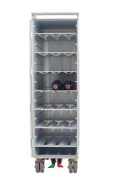 ATLAS Aluminum Wine Shelves for Aircraft Galley Cart Airline Drink Bar Trolley