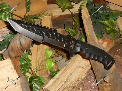 """M-tech/Knife/Bowie/Blade/440SS/Full tang/Tanto/Combat/Camping/Survival/12"""""""