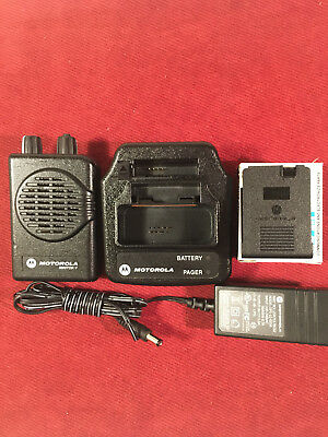 MOTOROLA MINITOR V 5 LOW BAND PAGERS 33-37 MHz 2-FREQUENCY STORED VOICE