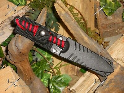 Harpoon/Spear tip/Knife/Bowie/Blade/Full tang/Survival/Combat/Hunting/P550 RED
