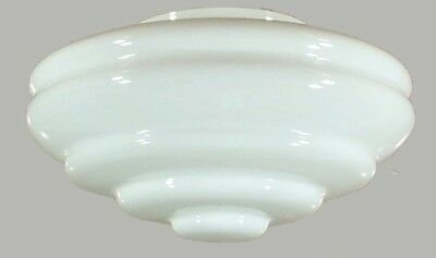 New Art Deco Chateau Glass Shade Part Lamp Light Pendant Hanging Lighting
