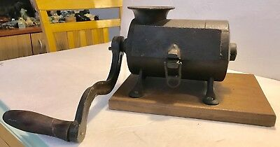 Antique Primitive SAUSAGE/MEAT GRINDER Cast Iron c1800's