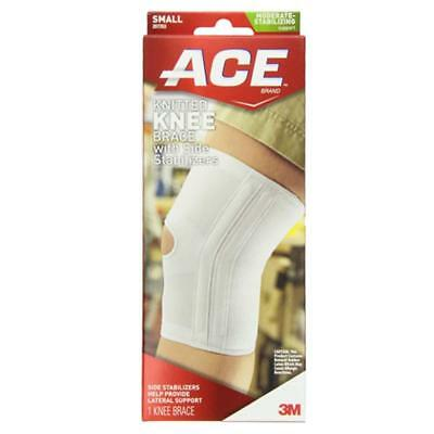 ACE Brand Knitted Knee Brace With Side Stabilizers, Small, 1 ea