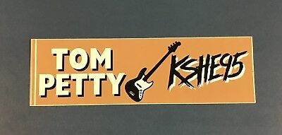 Vintage '90s KSHE 95 Tom Petty Sweet Meat Bumper Sticker Decal STL Radio!