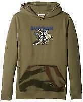 NEW Snow gear Burton Boys Stoked Pullover Dusty Olive