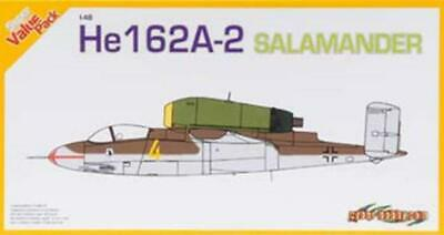 Cyber Hobby 1/48 HE162A-2 Salamander & Photo-Etched Prt 5564