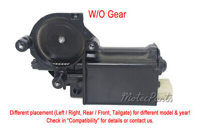 2PCS WINDOW MOTOR 12-tooth Gear for Buick Cadillac Chevy GMC