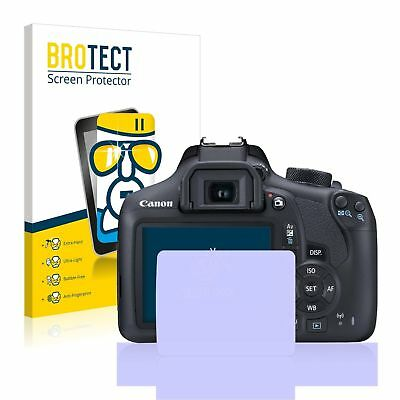Canon EOS 1300D, BROTECT® AirGlass® Premium Glass Screen Protector, Anti-Scratch