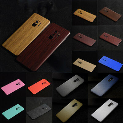 25 Styles For Samsung S9 S9+ Plus Skin Case Sticker Back Film Textured Cover UK