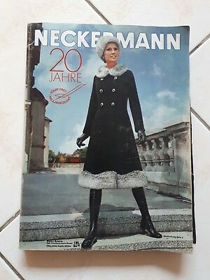 Neckermann Katalog Herbst / Winter 1970/71 - Versandhauskatalog Retro
