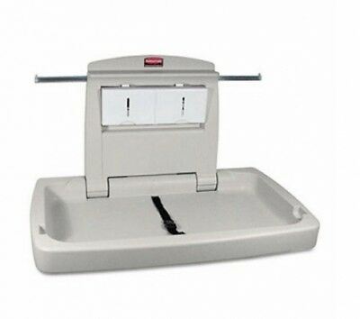 Rubbermaid Baby Change Table 7818-88 Horizontal Silver