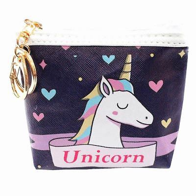 GIRL'S ACCESSORIES Cute Little Unicorn Coin Purse Wallet Unicorn Bag