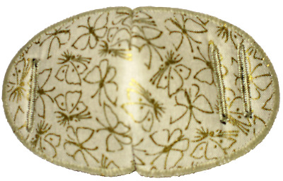 Medical Eye Patch For Glasses, GOLD BUTTERFLIES Regular, Soft and Washable