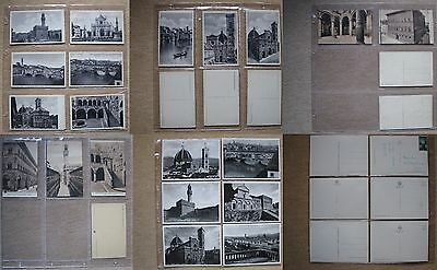 Italie / Florence - Lot 50 Cartes Postales Anciennes