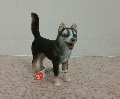 *New* Schleich 16371 Husky Male Dog Canine - Retired